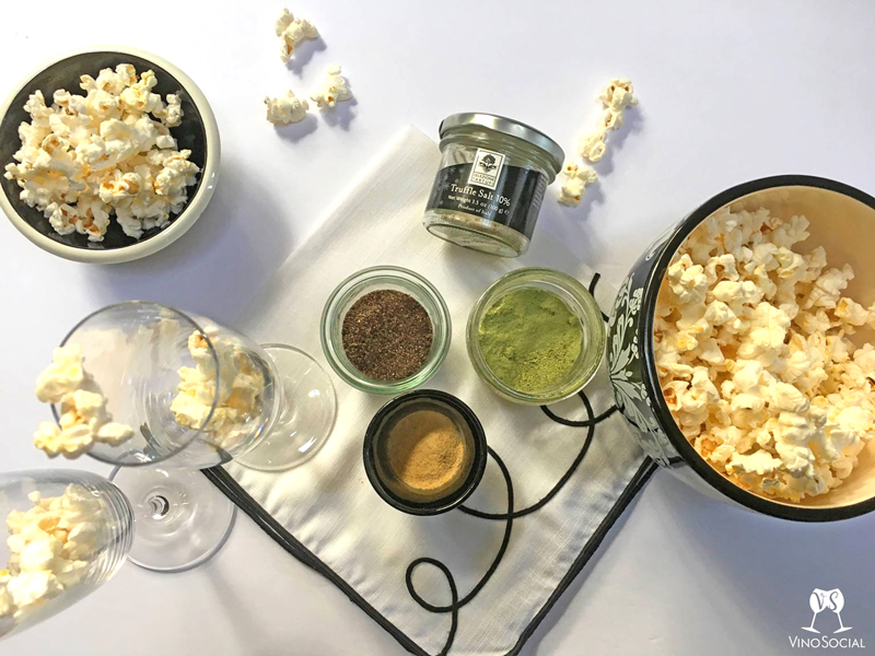 Flavorful Sparkling Wine and Popcorn Pairings