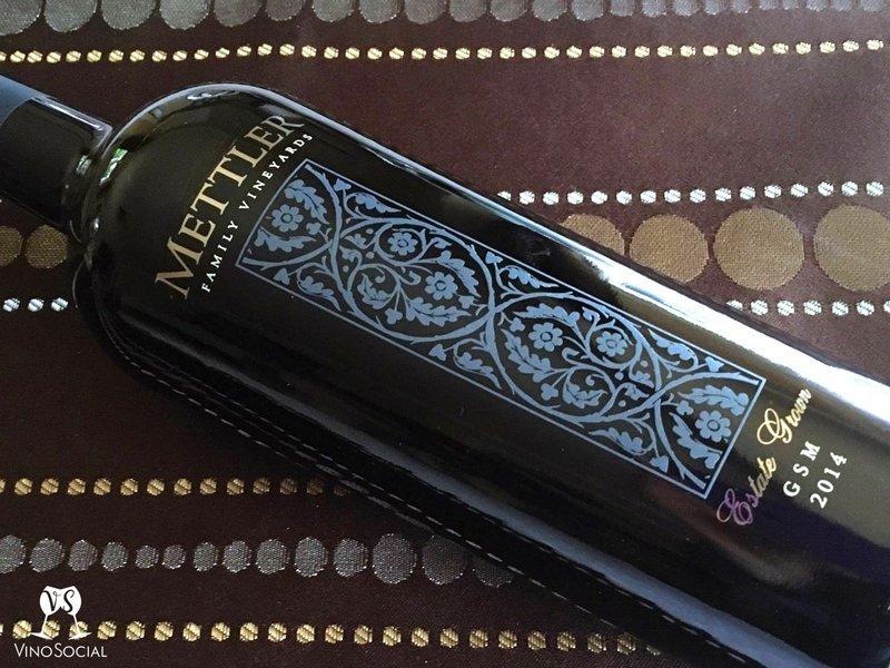 California Wine Bottle