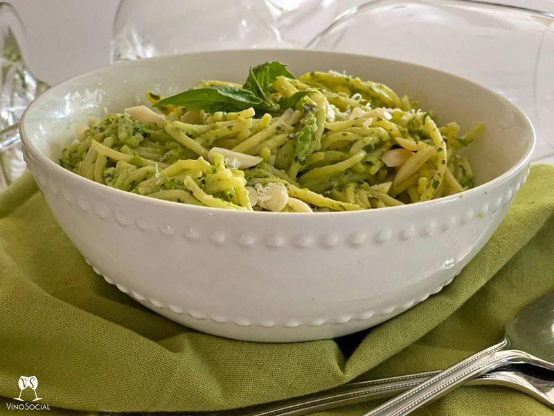 Primavera Pesto Pasta Recipe