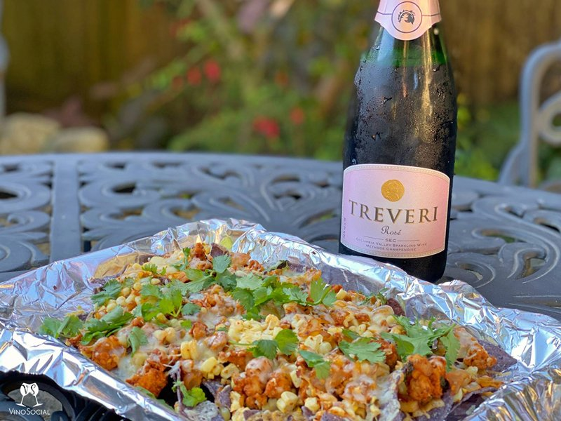 Nachos and Sparkling Wine Pairing