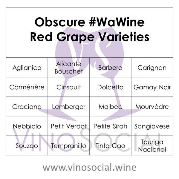 Fun Red Washington Wine Varieties